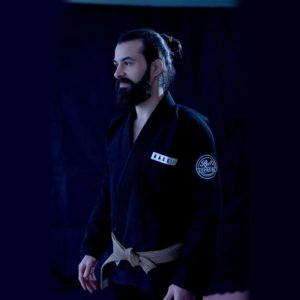 Roll Supreme BJJ Gi The Base III svart 1