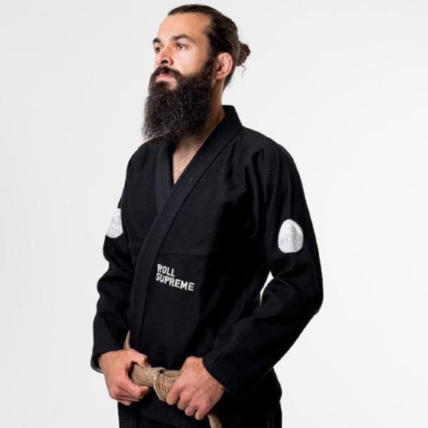Roll Supreme BJJ Gi The Nomad svart 1