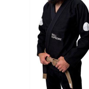 Roll Supreme BJJ Gi The Nomad svart 6