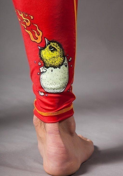 Rooster spats meerkatsu detail