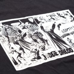 Scarmble X Judge Dredd T shirts 1