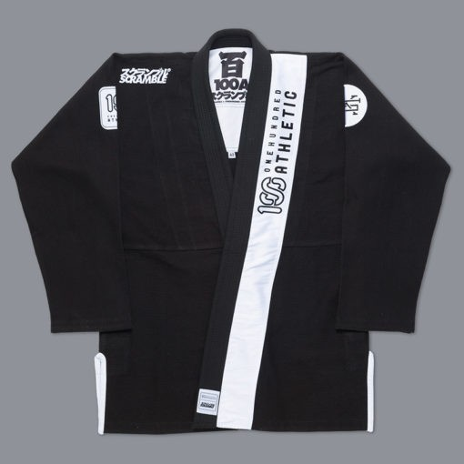 Scramble 100 Athletic BJJ Gi svart 1