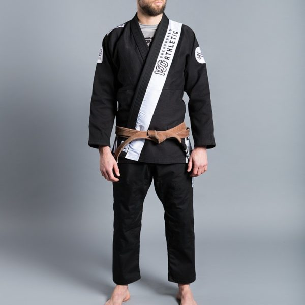 Scramble 100 Athletic BJJ Gi svart 2