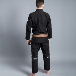 Scramble 100 Athletic BJJ Gi svart 4