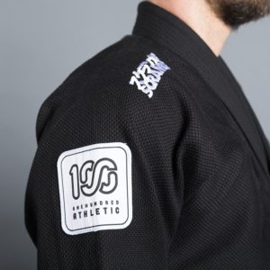 Scramble 100 Athletic BJJ Gi svart 5