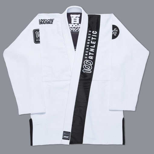 Scramble 100 Athletic BJJ Gi vit 1