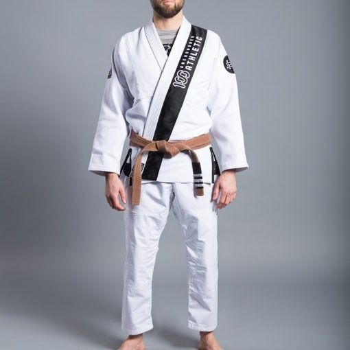 Scramble 100 Athletic BJJ Gi vit 2