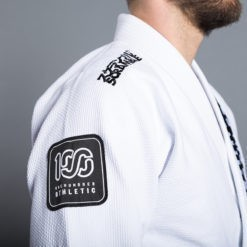 Scramble 100 Athletic BJJ Gi vit 5