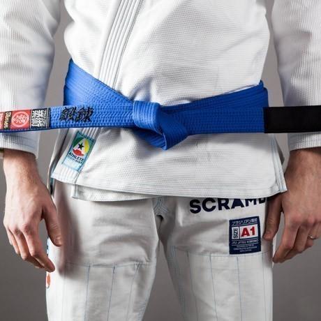 Scramble BJJ Belt blue