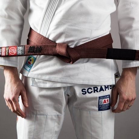 Scramble BJJ Belt brown