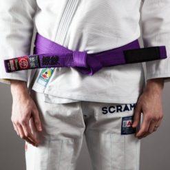 Scramble BJJ Belt purple