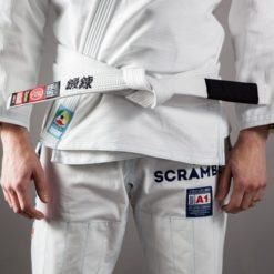 Scramble BJJ Belt white