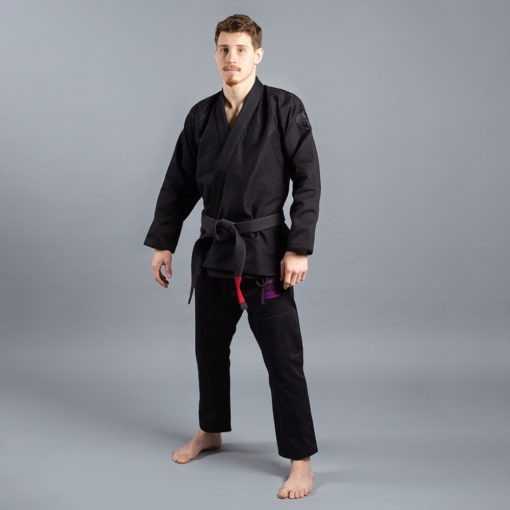 Scramble BJJ Gi Athlete 4 svart 550 midnight edition 1