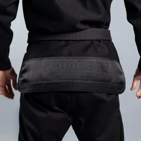 Scramble BJJ Gi Athlete 4 svart 550 midnight edition 3