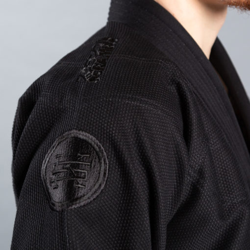 Scramble BJJ Gi Athlete 4 svart 550 midnight edition 5