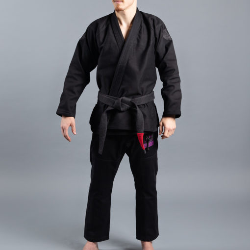 Scramble BJJ Gi Athlete 4 svart 550 midnight edition 6