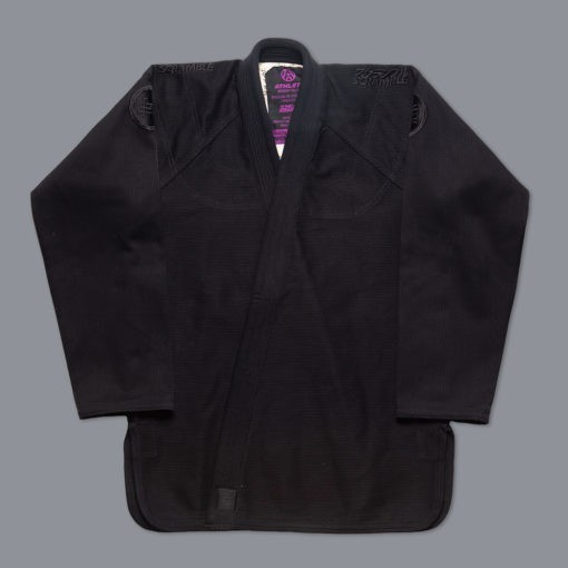 Scramble BJJ Gi Athlete 4 svart 550 midnight edition 8