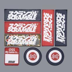 Scramble BJJ Gi Kids Standard Issue Semi Custom vit patches