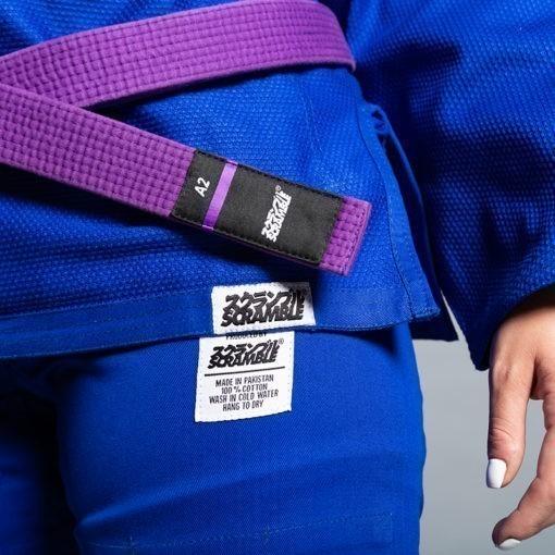 Scramble BJJ Gi Ladies Standard Issue Semi Custom V2 Bla 2