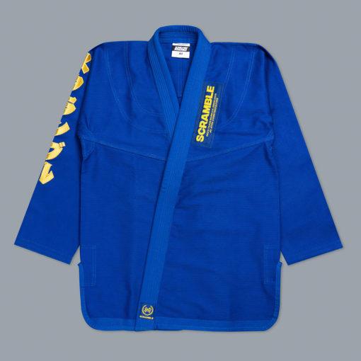 Scramble BJJ Gi Makoto blå 1
