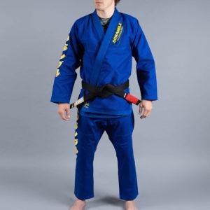 Scramble BJJ Gi Makoto blå 2