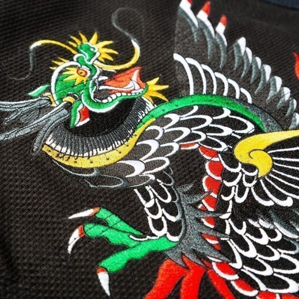 Scramble BJJ Gi Sukajan Dragon 6