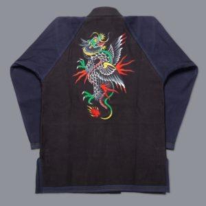 Scramble BJJ Gi Sukajan Dragon 8