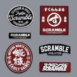 Scramble BJJ Gi standard issue semi custom V3 patches
