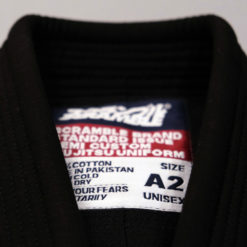 Scramble BJJ Gi standard issue semi custom V3 svart 2