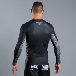 Scramble Black Digital Camo Rash Guard 2