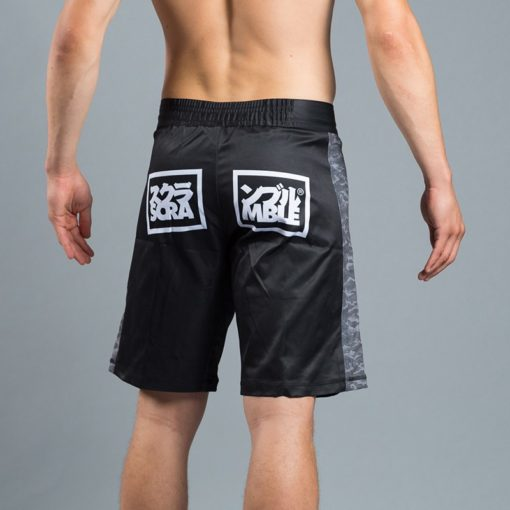 Scramble Black Digital Camo Shorts 2