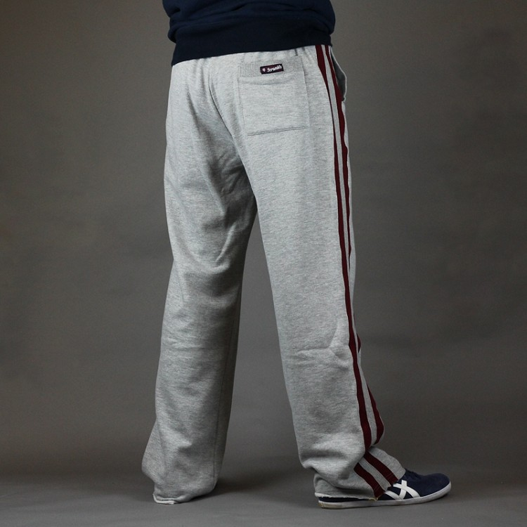 Scramble-Jogging-bottoms-relaxatron-grey-and-burgundy-back