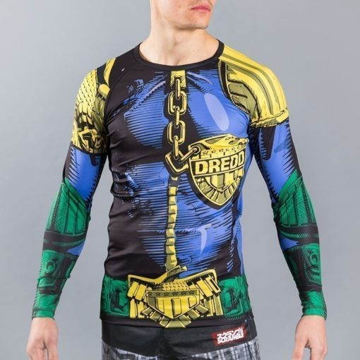 Scramble Judge Dredd Rashguard 1