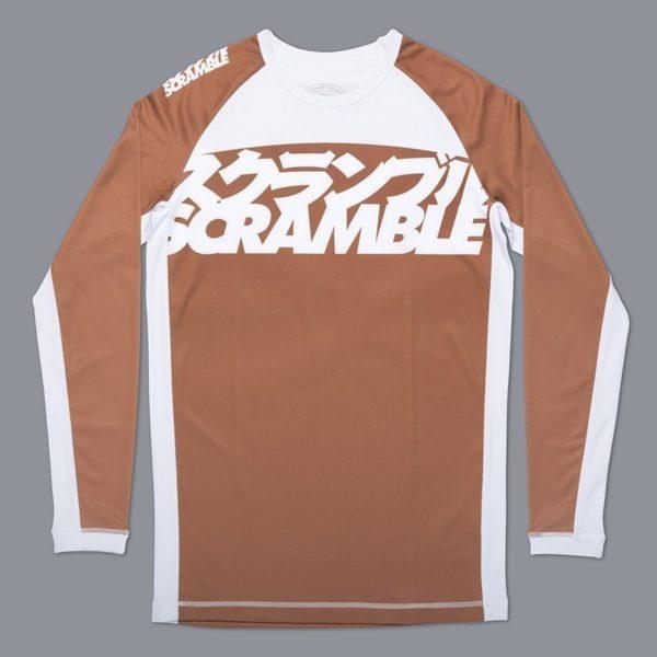 Scramble Rashguard BJJ Ranked V3 brun 1