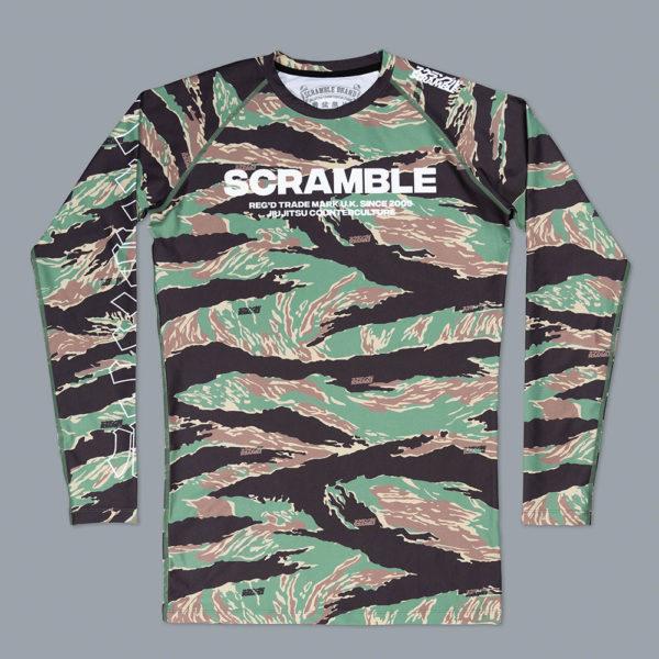 Scramble Rashguard Base Tigher Camo 1