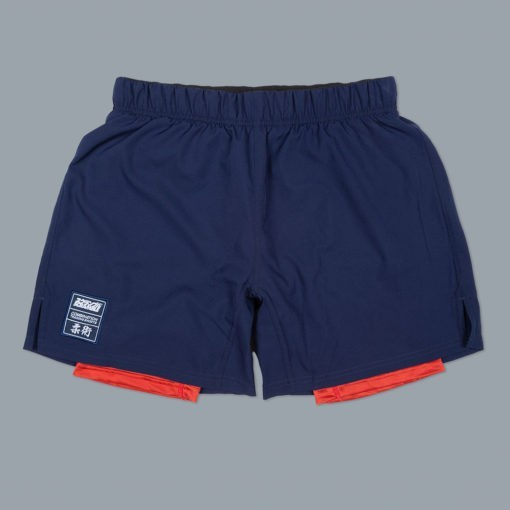 Scramble Shorts Combination navy rod 1