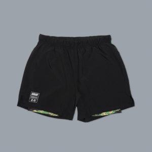Scramble Shorts Combination svart tiger camo 1