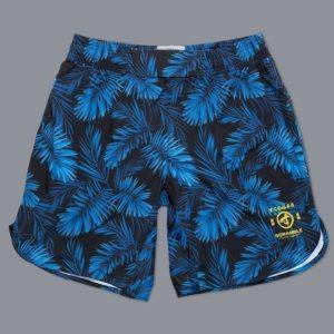 Scramble Shorts Indigo Camo 1