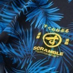 Scramble Shorts Indigo Camo 4