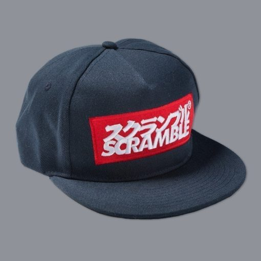Scramble Snapback Logo navy 1