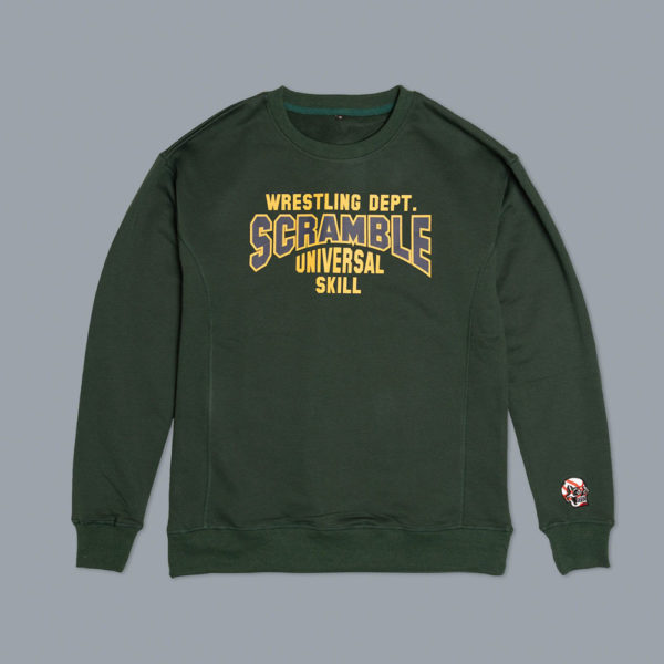 Scramble Sweatshirt Collegiate Wrestling 1