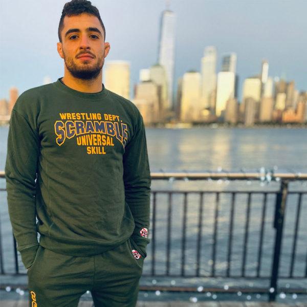 Scramble Sweatshirt Collegiate Wrestling 5