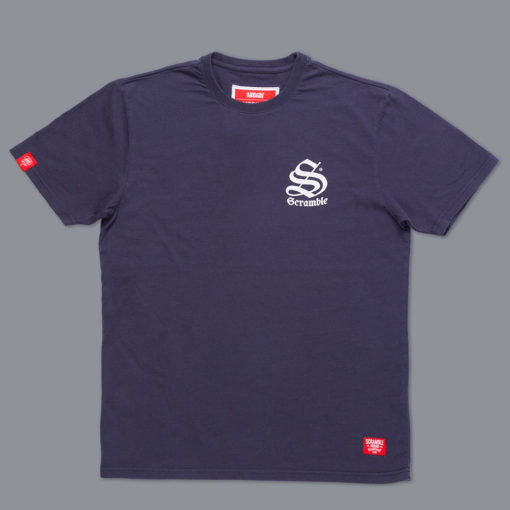Scramble T shirt Inner City Jiu Jitsu navy 1