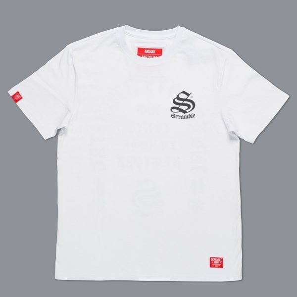 Scramble Toshi T Shirt Vit 1