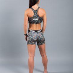 Scramble Womens Vale Tudo Shorts camo 5