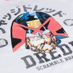 Scramble X Judge Dredd T Shirt 11