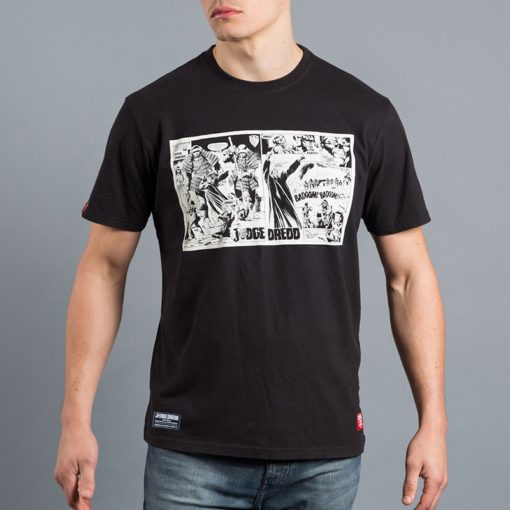 Scramble X Judge Dredd T Shirt 16