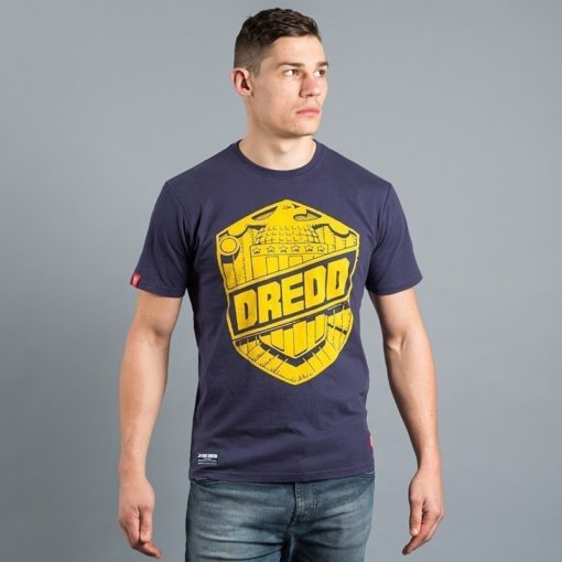 Scramble X Judge Dredd T Shirt 3
