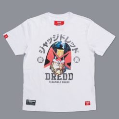 Scramble X Judge Dredd T Shirt 5