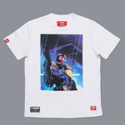 Scramble X Judge Dredd T Shirt 6